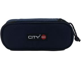 Κασετίνα Οβάλ Lycsac City Phillit Indigo Blue 92898