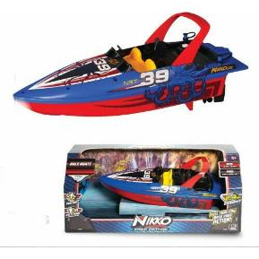 Nikko RC Race Boat Blue 34-10072
