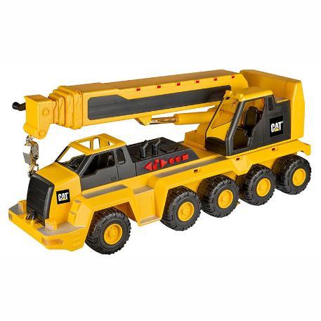 Cat Massive Machine 10 Wheel Crane L&S-0