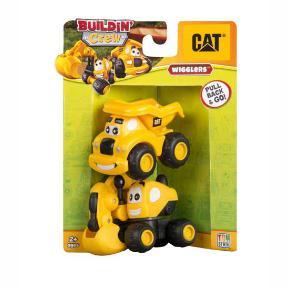 Cat Buildin Crew Φορτηγό και Εσκαφέα (80405)
