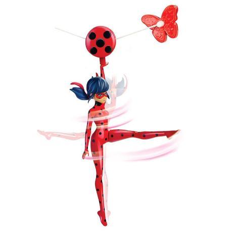 Miraculous Delux Φιγούρα Zipline Ladybag (39730F)-0