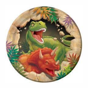 Πιατάκια για πάρτυ - Dino 8τμχ (μικρά)