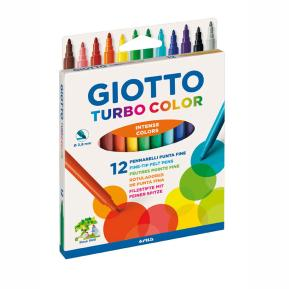Giotto Μαρκαδόροι 12τμχ Turbo Color (416000)