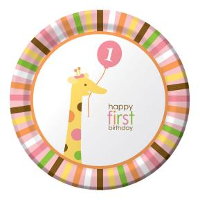 Πιάτα για πάρτυ - My first party 8τμχ
