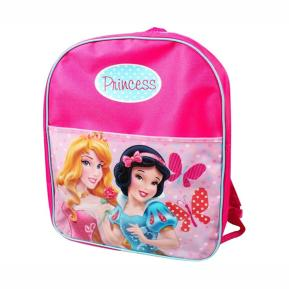 OEM Disney Σχολική Τσάντα Νηπιαγωγείου Δημοτικού Σακίδιο Πλάτης με φερμουάρ Princess (53468)