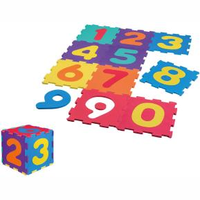 Happy People floor puzzle Cijfers junior 31 cm 10 τμχ
