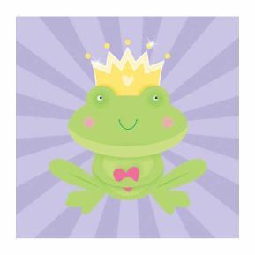 Χαρτοπετσέτες για πάρτυ - Fairytale Princess (μικρές) 16τμχ