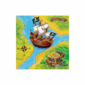 Χαρτοπεσέτες για πάρτυ - Πειρατές 16τμχ