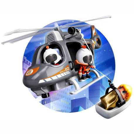 Giochi Preziosi Pinypon Action Ελικόπτερο Διάσωσης & Φιγούρα (700015350)-1
