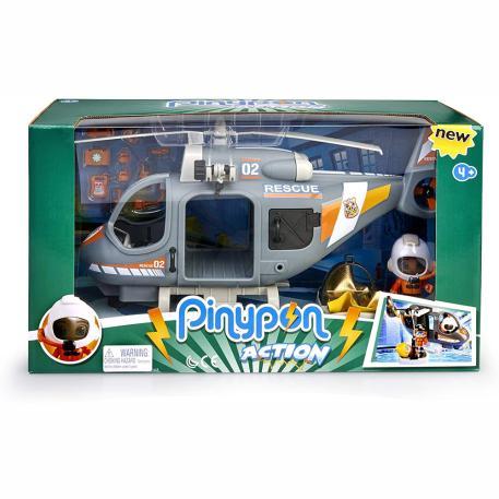 Giochi Preziosi Pinypon Action Ελικόπτερο Διάσωσης & Φιγούρα (700015350)-4