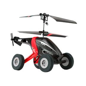 AS Company Silverit Τηλεκατευθυνόμενο Ελικόπτερο Air Wheelz Μαύρο Κόκκινο