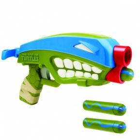 TMNT Όπλο T-Blast Quad-Blaster Μπλε - Πράσινο (98700)