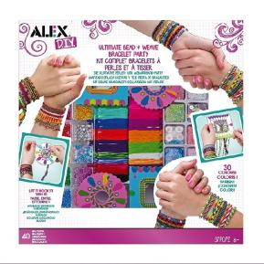 Alex Toys - Ultimate Bead & Weave Bracelet