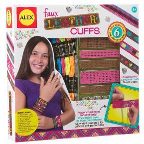 Alex Toys - Κατασκευή κοσμήματα Faux Leather Cuffs
