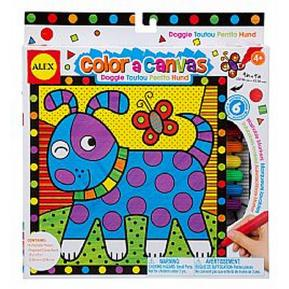 Color A Canvas - Doggie