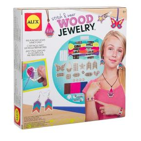 Alex Toys - DIY Wear Stitch & Wear Wood Jewelry