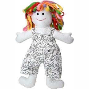 ALEX Color & Cuddle Washable Doll - Πάνινη Κούκλα 40 εκ.