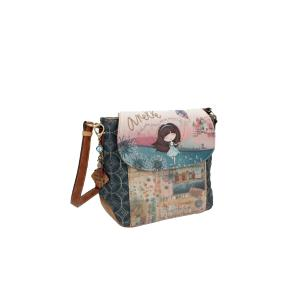 Anekke Τσάντα Ώμου μεσαία με καπάκι (AN26833-01)