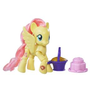 My Little Pony Explore Equestria Poseable Fluttershy (B3598)