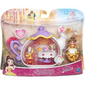 Disney Princess Small Doll Playset Belle's Enchanted Dining Room (B5344)