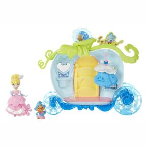 Hasbro Disney Princess Small Doll Playset Cinderella's Bibbidi Carriage (B5344)