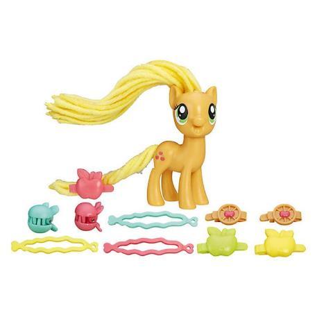 My Little Pony Twisty Twirly Hair Styles AppleJack (B8809)-0