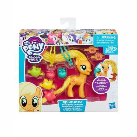 My Little Pony Twisty Twirly Hair Styles AppleJack (B8809)-1