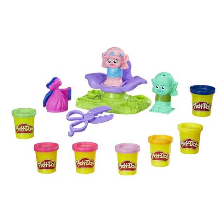 Play-Doh Trolls Press N Style Salon (B9027)-1