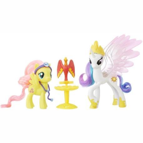 My Little Pony Friendship Princess Celestia & Fluttershy (B9160)-0