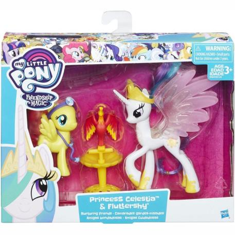 My Little Pony Friendship Princess Celestia & Fluttershy (B9160)-1