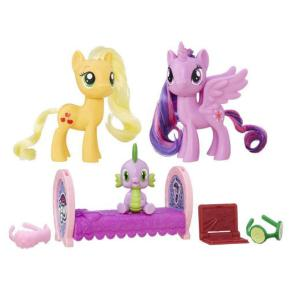 My Little Pony Friendship Princess Twilight Sparkle & Applejack (B9160)
