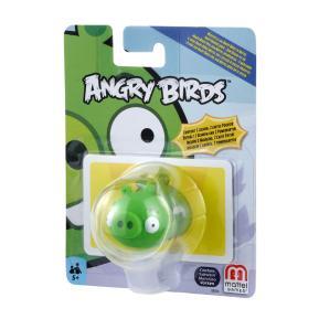 Mattel Angry Birds Φιγούρα Γουρουνάκι με κάρτες δύναμης BBD64