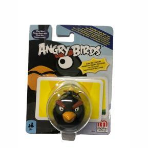 Mattel Angry Birds Φιγούρα Black Bird με κάρτες δύναμης