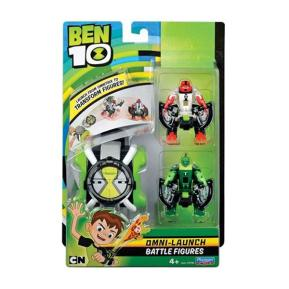 Ben 10 Omnitrix Transform + Φιγούρες Wildvine & Four Arms (BEN22000)