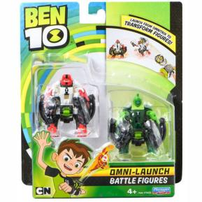 Ben 10 Φιγούρες Transform (Four Arms & Wildvine) BEN23000