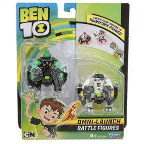 Ben 10 Φιγούρες Transform (Diamondhead & Cannonbolt) BEN23000