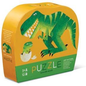 "Crocodile Creek Παζλ 12 κομματιών ""Δεινόσαυρος με το μωρό του"""