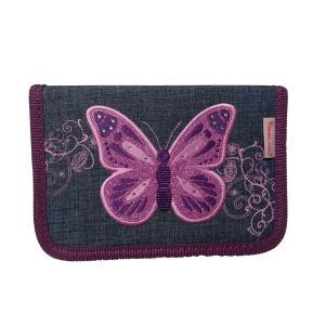 Κασετίνα Belmil Purple Flying Butterfly 335-74FBT