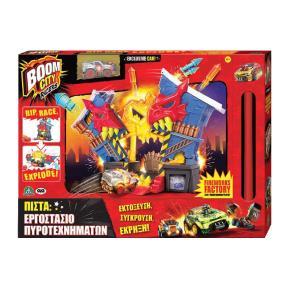 Λαμπάδα Giochi Preziosi Boom City Racers Εργαστήριο Πυροτεχνημάτων BMC17000