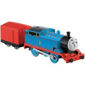Thomas The Train - Μηχανοκίνητo Τρένo Με Βαγόνι Thomas (BMK87)