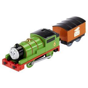Thomas The Train - Μηχανοκίνητα Τρένα Με Βαγόνι Percy (BMK87)