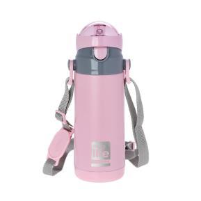 Μεταλλικό Μπουκάλι Παιδικό 450ml Ροζ Eco Life