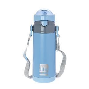 Μεταλλικό Μπουκάλι Παιδικό 450ml Μπλέ Eco Life
