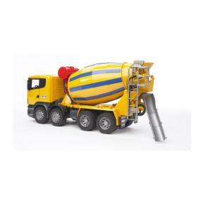 Bruder Μπετονιέρα Scania Κίτρινη 1:16 BR003554