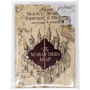 Blue Sky Studios Harry Potter Marauders Map A5 Σημειωματάριο BS145056