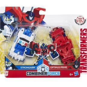 Transformer Rid Crash Combiner Strongarm & Optimus Prime (C0628)