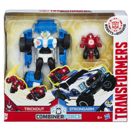Transformers Rid Activator Combiner Trickout and Strongarm (C0653)-0