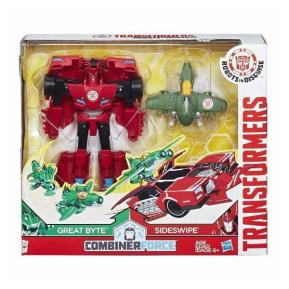 Transformers Rid Activator Combiner Great Byte and Sideswipe (C0653)