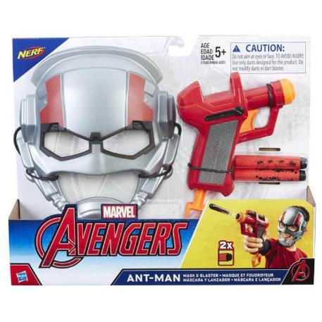 Marvel Avengers Mission Gear Ant-Man Mask and Particle εξοπλισμός (B9955)-0