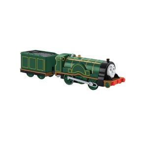 Thomas The Train - Μηχανοκίνητα Τρένα Με Βαγόνι Emily (BMK87)